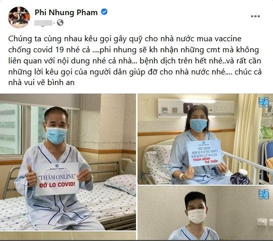 Phi Nhung nói gì về chiếc áo mẹ Hồ Văn Cường in chữ TÔI MUỐN THOÁT-1