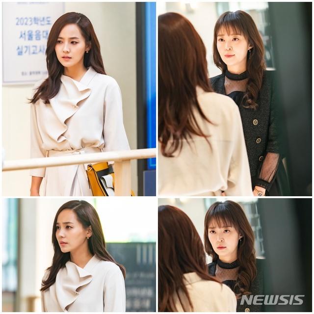Penthouse 3: Ha Eun Buyl tạo hình mới siêu phèn, Seok Kyung bỏ mẹ về với dượng Tê-5