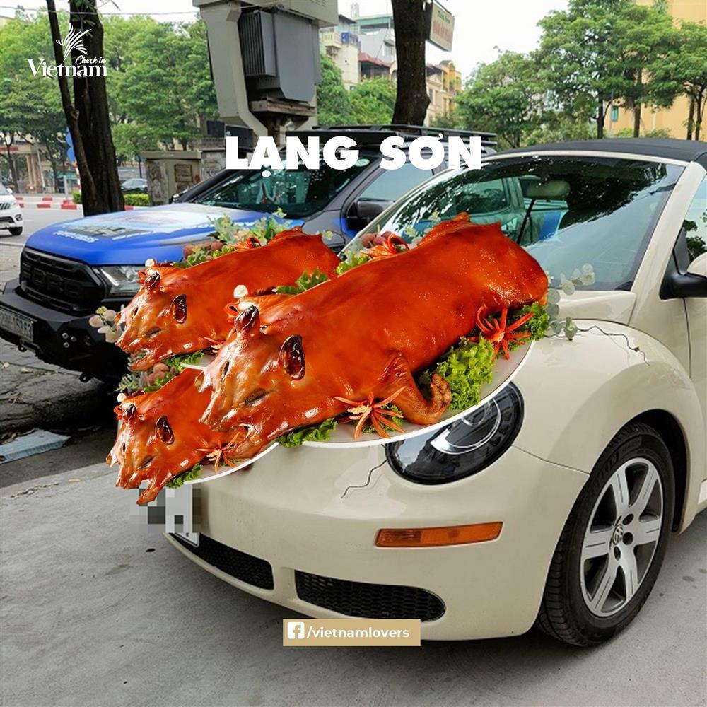 Sau hoa cưới vải thiều, dân mạng chế loạt xe dâu toàn đặc sản quê hương-5