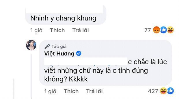 Chồng bị antifan mắng y chang khùng, Việt Hương phản dame sâu cay-3