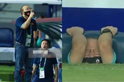 Hình ảnh không thể quên về HLV Park Hang Seo trong trận Việt Nam - Malaysia