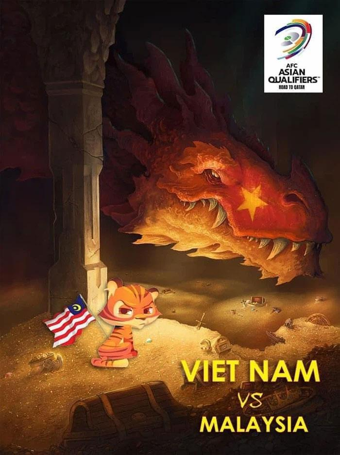Ảnh chế trận Việt Nam - Malaysia, bà Phương Hằng được mời nhập hội-9