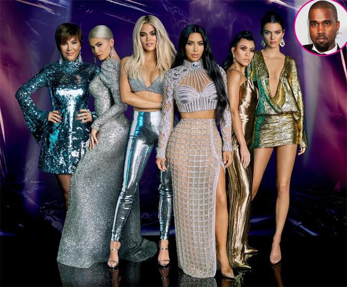 Kanye West hủy theo dõi Kim và cả nhà Kardashian-1