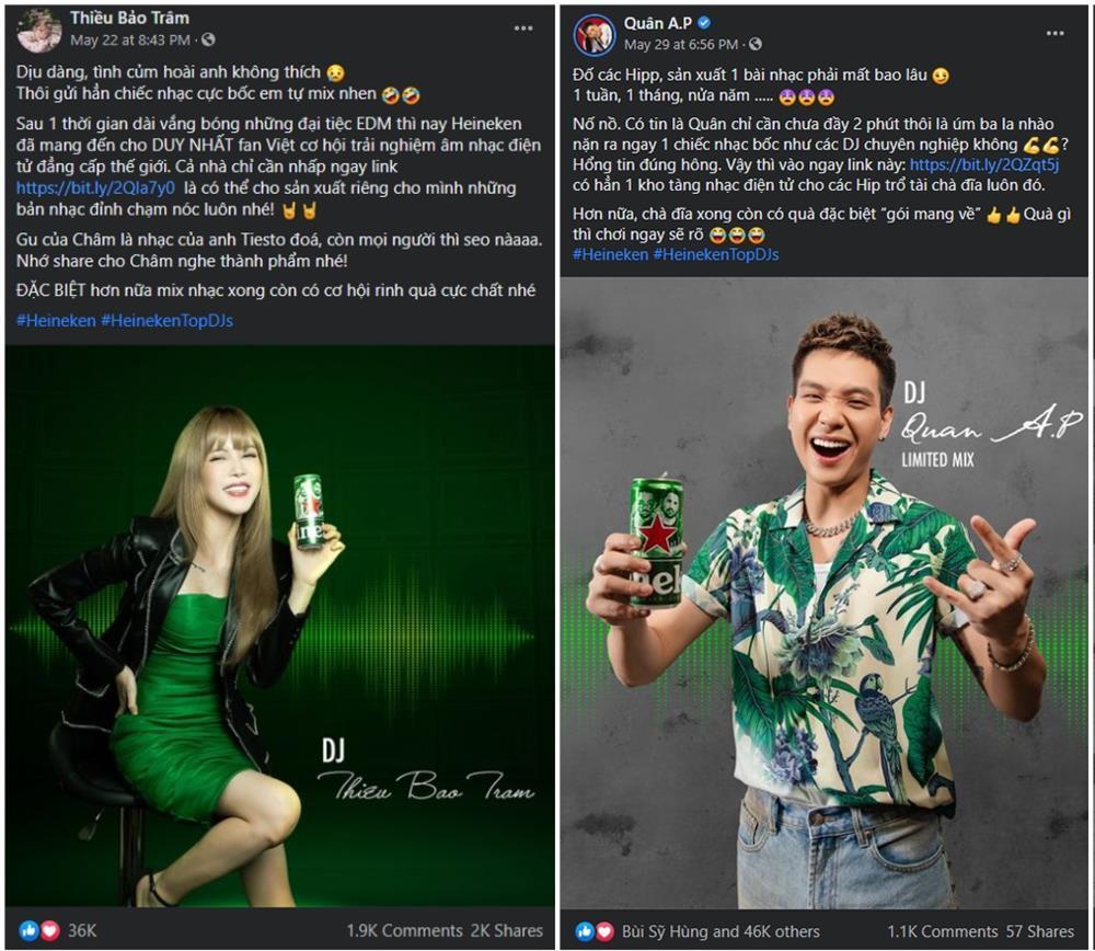 Sao Việt rầm rộ trend tự mix nhạc từ Heineken x Top DJs-2
