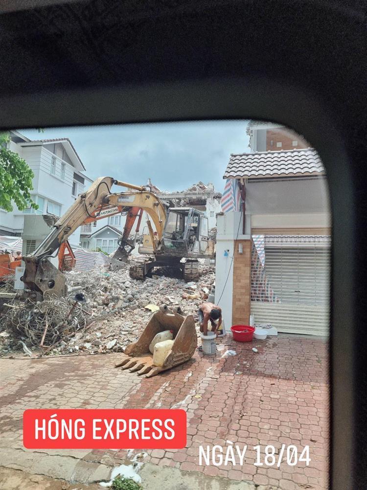 Thủy Tiên bị tung bằng chứng lươn lẹo: Thông báo sửa nhà nhưng đập đi xây lại biệt thự 80 tỷ?-5