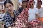 Tranh cãi đoạn clip ninh xương 'khủng long nguyên con' để nấu mì ở Trung Quốc