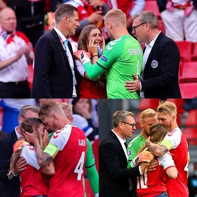 10 năm một cuộc tình cùng cô nàng làm tóc của tiền vệ Christian Eriksen đột quỵ tại Euro 2020-7