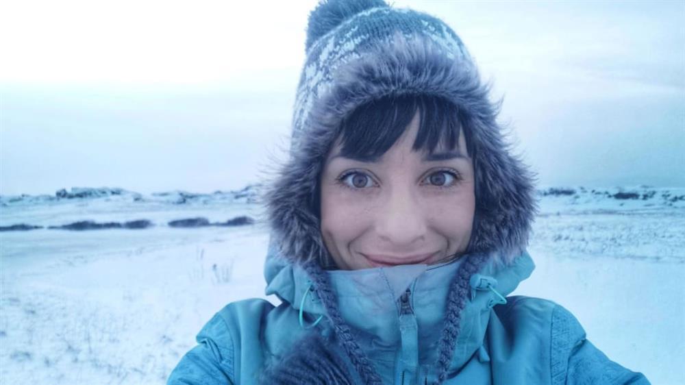 Người phụ nữ một mình đến Bắc Cực sống để trốn dịch-1