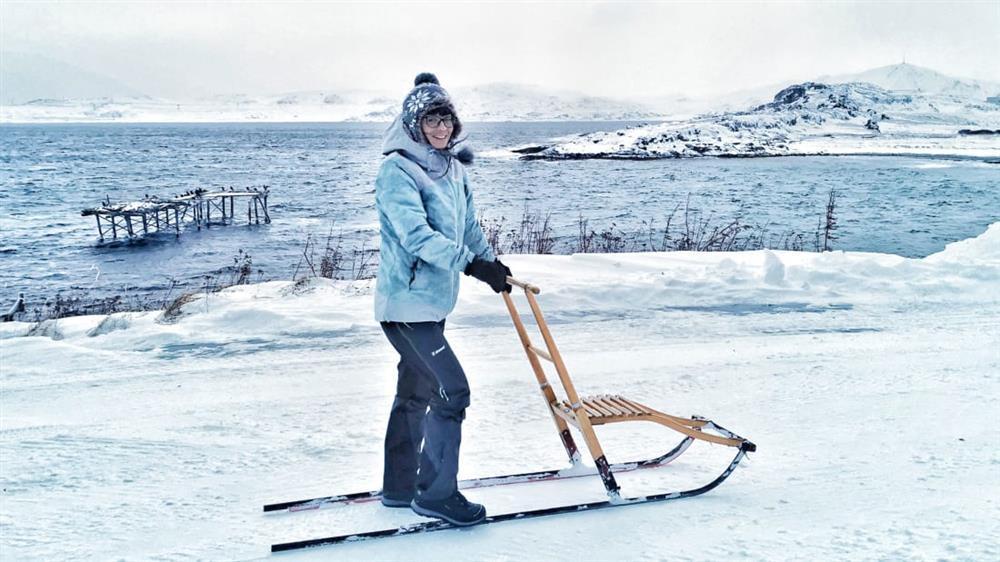 Người phụ nữ một mình đến Bắc Cực sống để trốn dịch-2