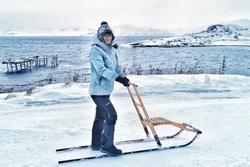 Người phụ nữ một mình đến Bắc Cực sống để trốn dịch