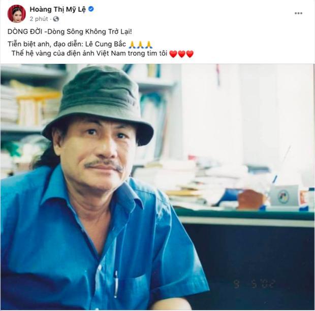 Việt Trinh khóc cạn nước mắt, nghệ sĩ Việt đau buồn khi đạo diễn Lê Cung Bắc qua đời-5