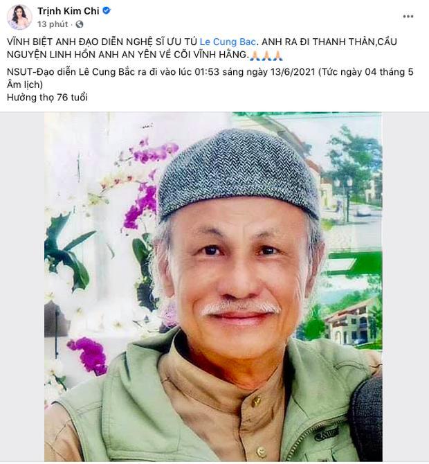 Việt Trinh khóc cạn nước mắt, nghệ sĩ Việt đau buồn khi đạo diễn Lê Cung Bắc qua đời-6