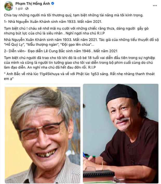 Việt Trinh khóc cạn nước mắt, nghệ sĩ Việt đau buồn khi đạo diễn Lê Cung Bắc qua đời-3