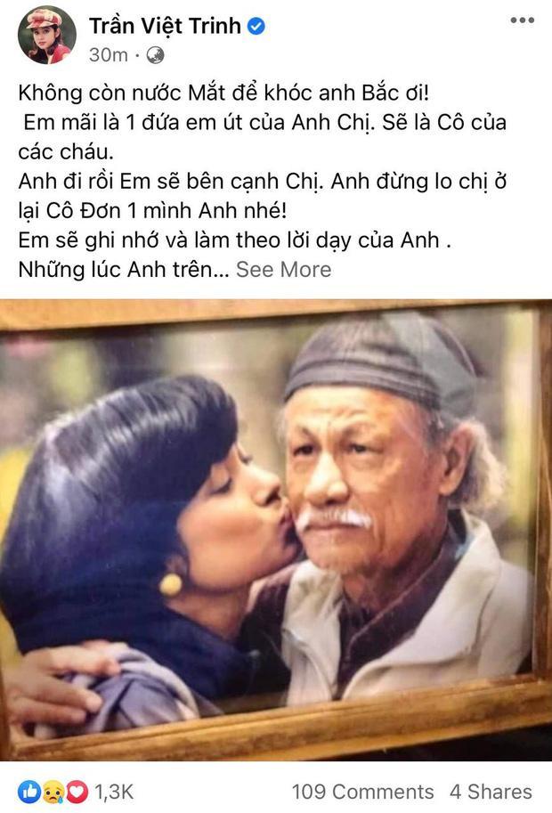 Việt Trinh khóc cạn nước mắt, nghệ sĩ Việt đau buồn khi đạo diễn Lê Cung Bắc qua đời-2