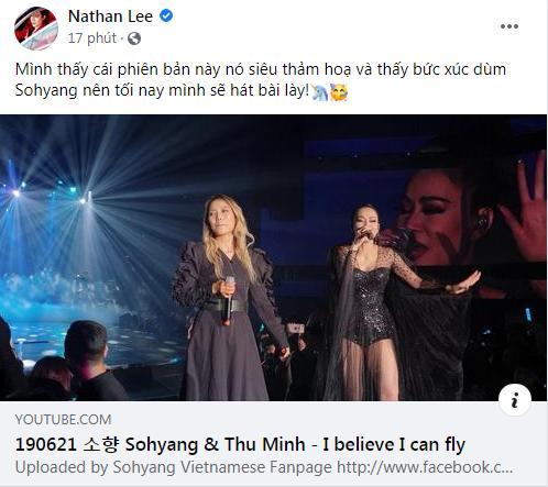 Nathan Lee nhắc lại scandal từng khiến Thu Minh muốn quên đi mà sống-4