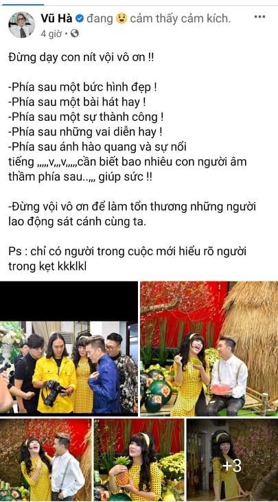 Vũ Hà bàn về chữ ƠN, Phi Nhung và Hồ Văn Cường ai sai ai đúng?-2
