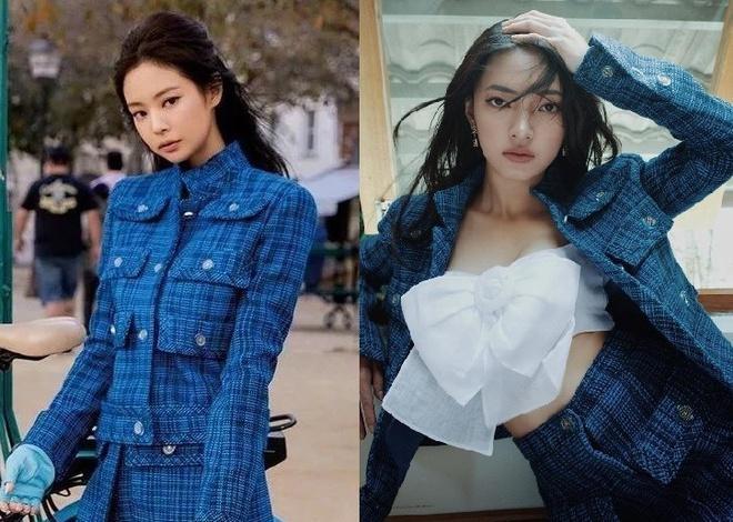 Đụng áo Chanel 60 triệu, Ngô Thanh Vân - Dương Mịch - Jennie mix&match cực gắt-7