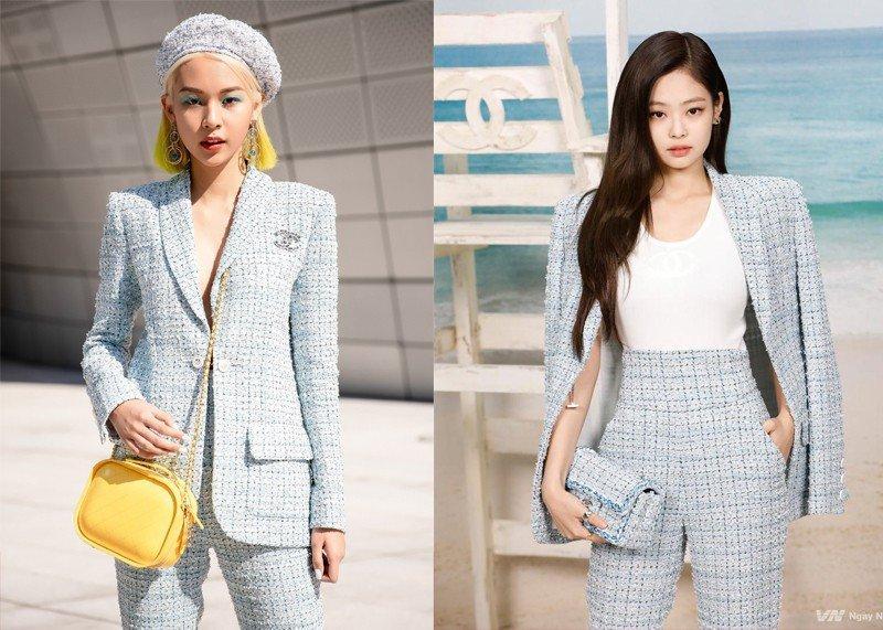 Đụng áo Chanel 60 triệu, Ngô Thanh Vân - Dương Mịch - Jennie mix&match cực gắt-8