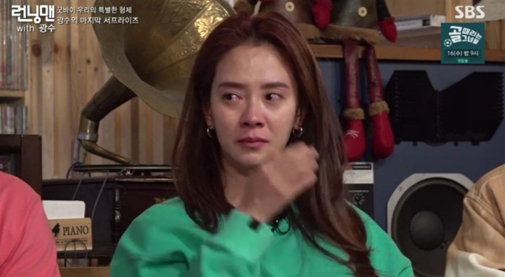 Lee Kwang Soo khóc nghẹn trong ngày chia tay Running Man-5