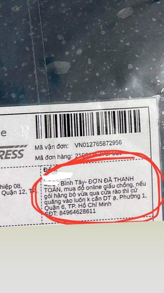 Thánh săn sale ghi địa chỉ chuyển hàng khiến shipper chỉ biết cười méo mặt-1