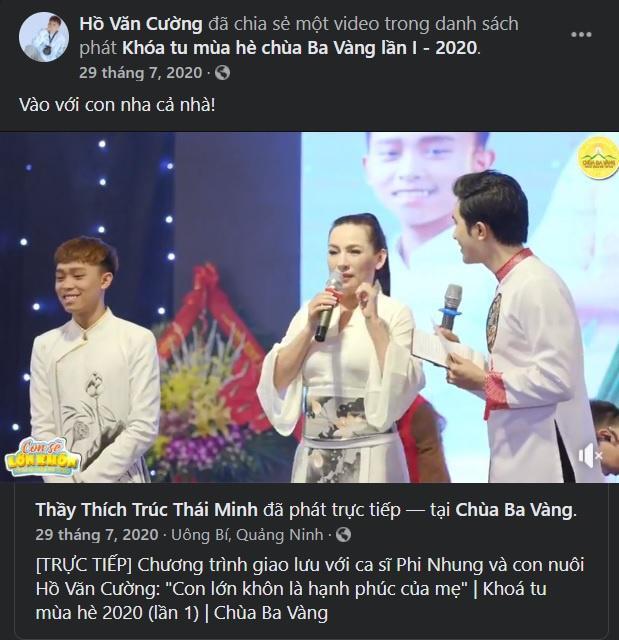 Loạt mâu thuẫn trong phát ngôn của Phi Nhung và quản lý Diễm Phạm-5