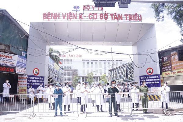Bệnh viện K cơ sở Tân Triều tiếp nhận bệnh nhân trở lại-1