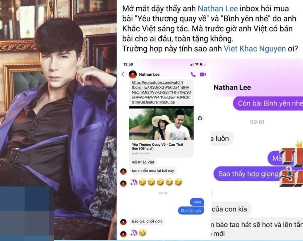 Khắc Việt hoàn tất việc bán đứt hit Cao Thái Sơn cho Nathan Lee?-2