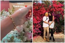 H'Hen Niê được bạn trai tặng vòng vàng nhân dịp kỉ niệm 3 năm yêu