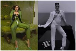 Kim Kardashian mặc áo độc dị gợi nhớ corset 'hư hỏng' của Ngọc Trinh