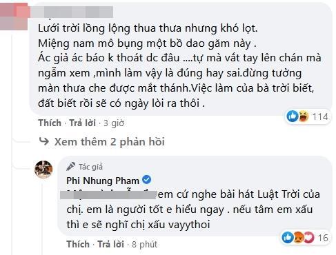 Phi Nhung bị mắng miệng nam mô, bụng bồ dao găm-4