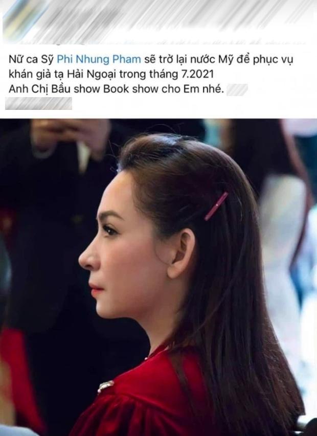 Lộ poster Phi Nhung diễn ở Mỹ vào tháng 8 dù từng phủ nhận về Mỹ trốn scandal-1
