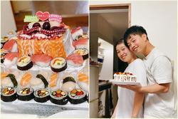 9X mất ngủ làm bánh sinh nhật tặng chồng, thành phẩm có '1-0-2' khiến ai cũng ngưỡng mộ
