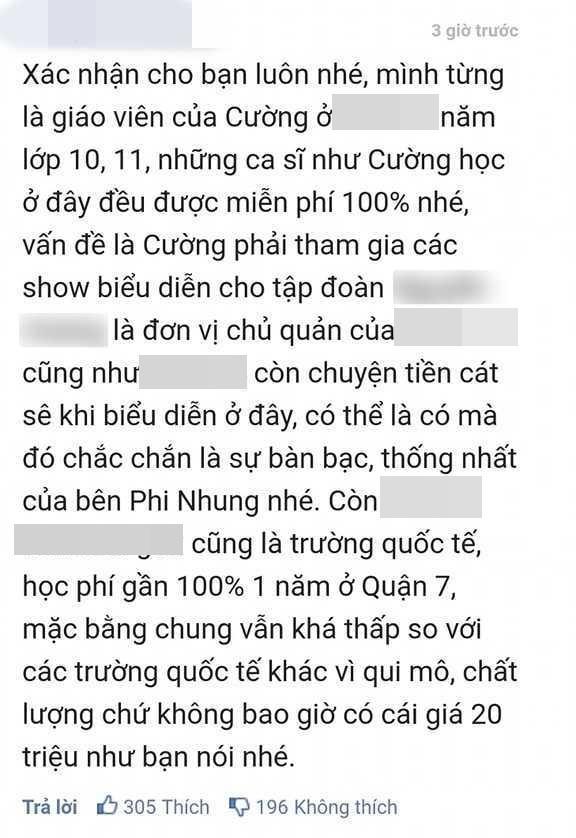 Giáo viên cũ nói Hồ Văn Cường được miễn 100% học phí, nhà trường nói sao?-1