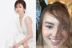 Ninh Dương Lan Ngọc makeup giống Song Hye Kyo nhưng lại khiến fan tá hỏa