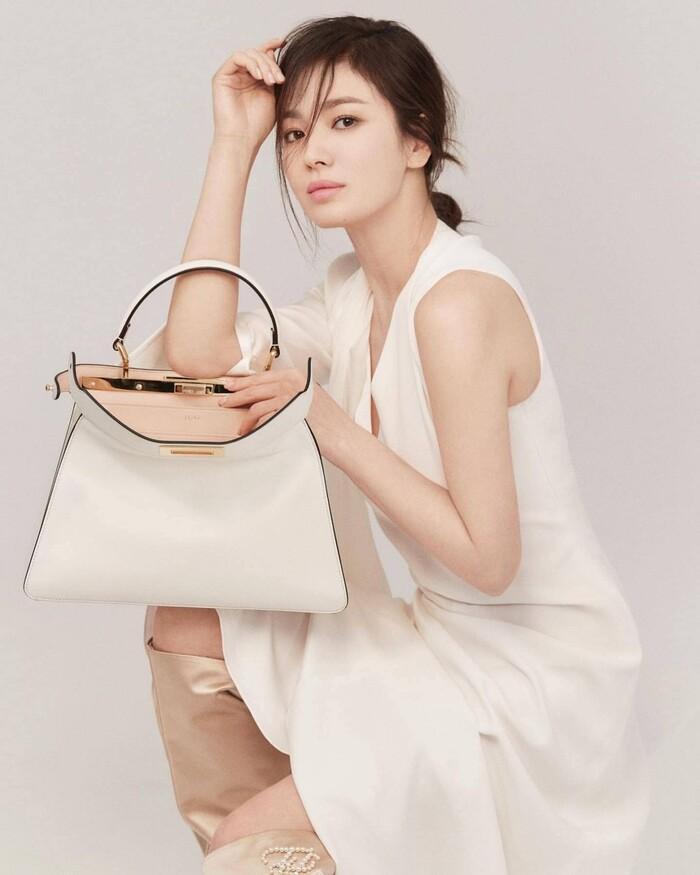 Ninh Dương Lan Ngọc makeup giống Song Hye Kyo nhưng lại khiến fan tá hỏa-3