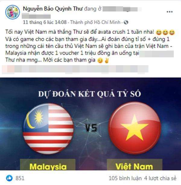 Dân mạng khẳng định Nguyễn Tiến Linh cua Quỳnh Thư là sự thật?-7
