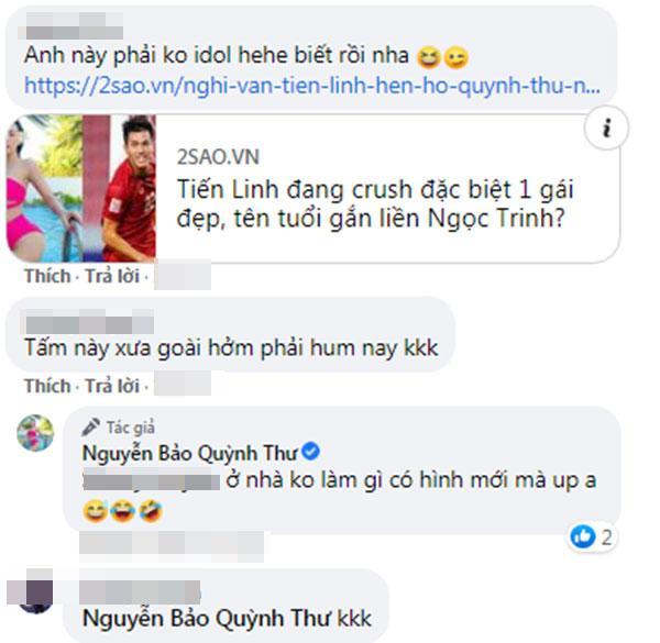 Dân mạng khẳng định Nguyễn Tiến Linh cua Quỳnh Thư là sự thật?-5