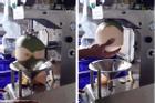Không chặt dừa bằng tay như Việt Nam, nước bạn sử dụng cỗ máy giải quyết vấn đề trong chớp mắt