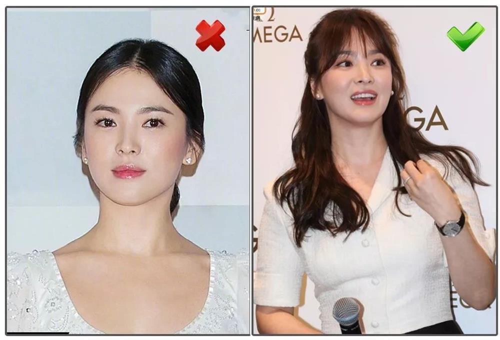 Tự xử tóc mái chữ bát giống Song Hye Kyo, Dương Mịch chỉ với 2 bước đơn giản-3