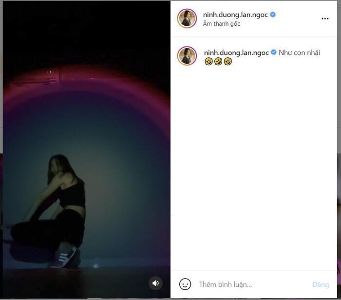 Ninh Dương Lan Ngọc đăng clip nhảy tự nhận như con nhái-2