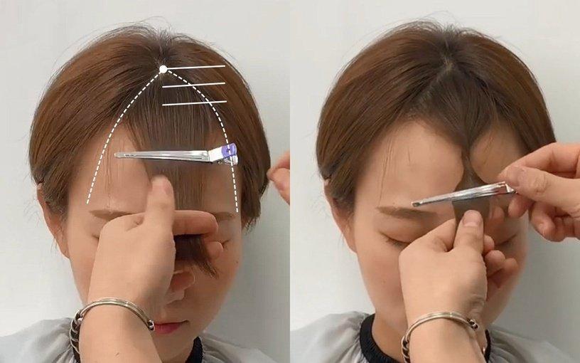 Tự xử tóc mái chữ bát giống Song Hye Kyo, Dương Mịch chỉ với 2 bước đơn giản-10