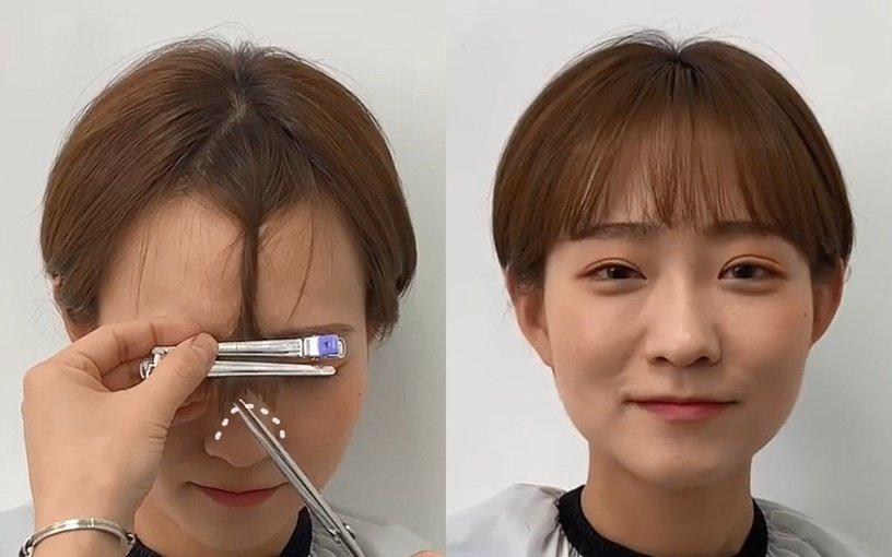 Tự xử tóc mái chữ bát giống Song Hye Kyo, Dương Mịch chỉ với 2 bước đơn giản-11