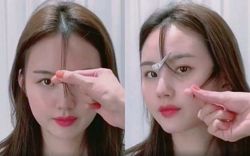 Tự xử tóc mái chữ bát giống Song Hye Kyo, Dương Mịch chỉ với 2 bước đơn giản-13