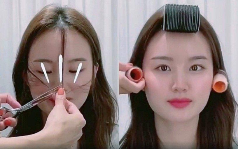 Tự xử tóc mái chữ bát giống Song Hye Kyo, Dương Mịch chỉ với 2 bước đơn giản-14