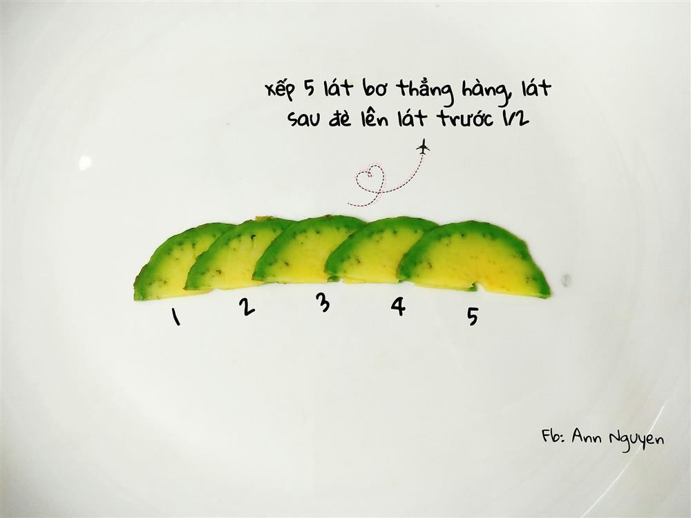 Cách xếp trái bơ thành bông hoa chỉ vài bước, ai làm cũng thành công luôn-4