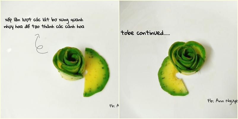 Cách xếp trái bơ thành bông hoa chỉ vài bước, ai làm cũng thành công luôn-6