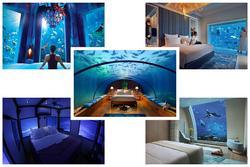 5 khách sạn hạng sang nằm dưới mặt nước biển