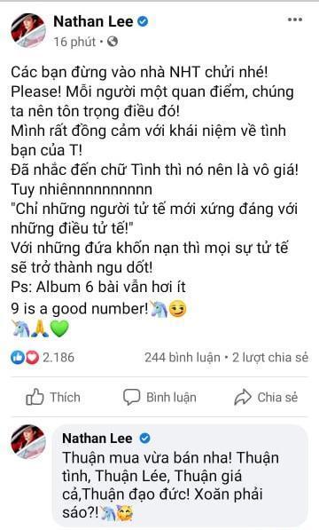 Nathan Lee tuyên bố xúc 9 bài hit của Cao Thái Sơn nhưng mới chốt deal được 6-5