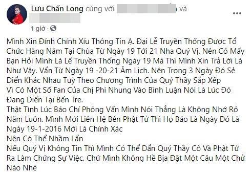 Ê-kíp Phi Nhung tung bằng chứng tố Lưu Chấn Long vu khống-7
