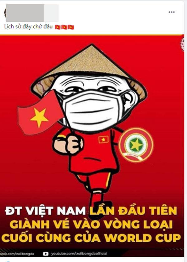 Mạng xã hội Việt bùng nổ khi Việt Nam chính thức lọt vòng 3 World Cup 2022-1